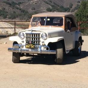 Jeepster in Santa Ynez